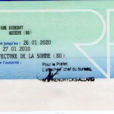 Användarprofil för Jean-Marie