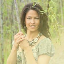 Rebekah felhasználói profilja