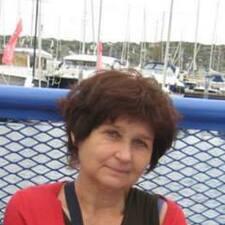 Grażyna is the host.