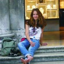 Gordana felhasználói profilja