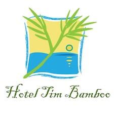 Tim Bamboo is de verhuurder.