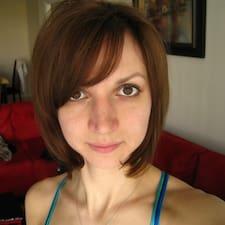 Ilona felhasználói profilja