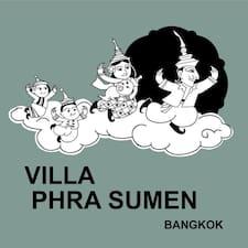 Villa Phra Sumen Bangkok User Profile