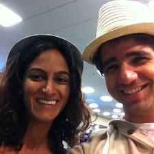 Profil utilisateur de Anjali & Walid