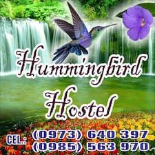Hummingbird ist der Gastgeber.