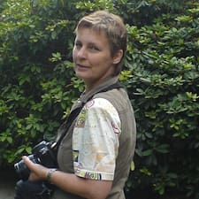 Birgit es el anfitrión.