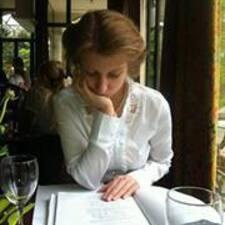 Anastasiya is the host.