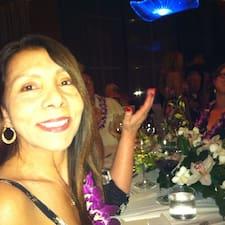 Angie ist der Gastgeber.