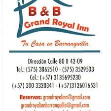 B & B    Grand Royal  Inn is the host.