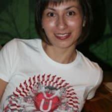 Галина ist der Gastgeber.