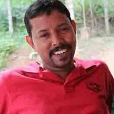 Santhosh è l'host.