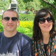 Sara And Sergio est l'hôte.