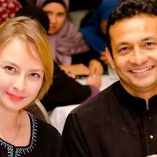 โพรไฟล์ผู้ใช้ Fozzil And Nadhirah