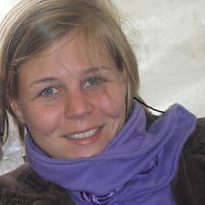 Jana felhasználói profilja