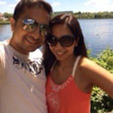 Preeta & Rohit Brukerprofil