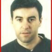 Carlos felhasználói profilja