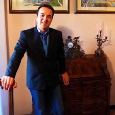 Riccardo is the host.