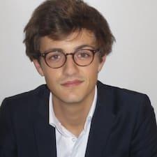 Grégoire is the host.