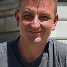 Wojciech is the host.