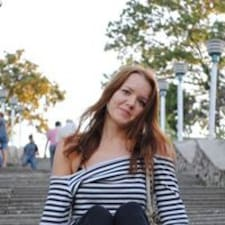 Jeanna felhasználói profilja