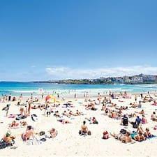 Bondi Beach Pad User Profile
