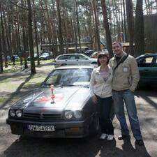 Marcin felhasználói profilja