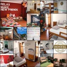 Hostel ist der Gastgeber.