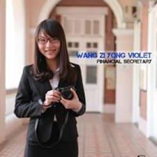 Perfil de usuario de Violet