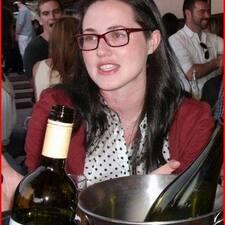 Michaela is the host.