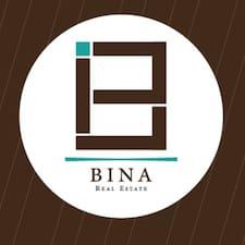 Bina is the host.