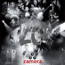 Henkilön Zamora käyttäjäprofiili