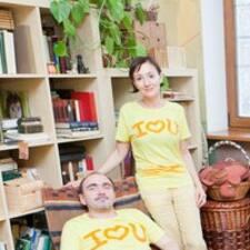 Nataliya & Sergey ist der Gastgeber.