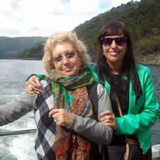 Maria Teresa & Mayte is the host.