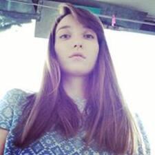 Nastya felhasználói profilja