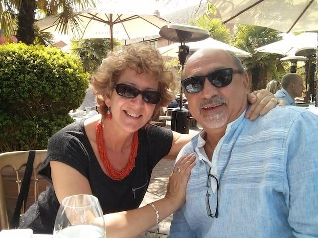 Brenda and Manuel