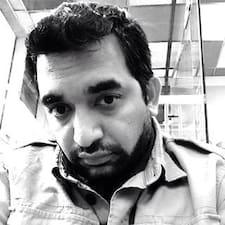 Abhishek felhasználói profilja