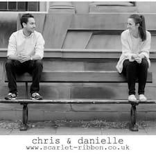Perfil do usuário de Danielle