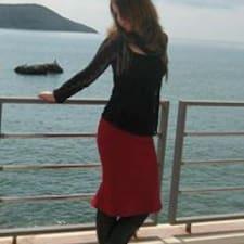 Emilija felhasználói profilja