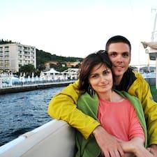 Aleksandra And Uroš is the host.