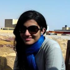 Pragya felhasználói profilja