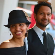 Gebruikersprofiel Amit G. Roy & Abigail Saldanha