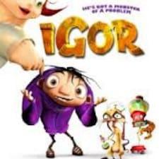 Igor ist der Gastgeber.