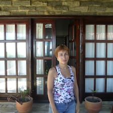 Maria Luisa ist der Gastgeber.
