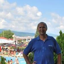 Maksim felhasználói profilja