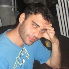 Saverio felhasználói profilja