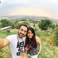 Profil utilisateur de Karan & Tanya