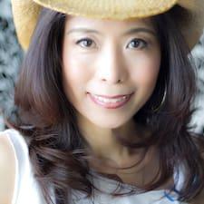 Haruko felhasználói profilja