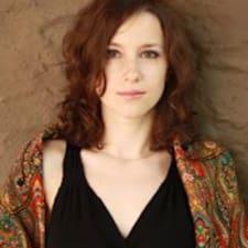 Olia felhasználói profilja