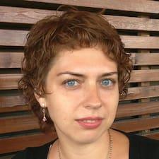 Henkilön Sofia käyttäjäprofiili