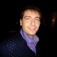 Евгений is the host.